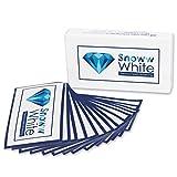 SNOWW WHITE Premium Teeth Whitening  - 28 White Stripes - Weiße Zähne in 14 Tagen - Zweifacher Testsieger - Bleaching
