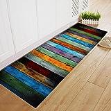huichang Fußmatte, Türmatte Fußabtreter Schmutzfangmatte Rutschfest & waschbar Teppiche Hochflor Shaggy für Wohnzimmer, Esszimmer (40 x 120cm)