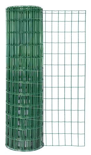 GAH-Alberts 604844 Schweißgitter Fix-Clip Pro, grün RAL 6073, 1040 mm Höhe, 25 m Rolle, Drahtstärke: 2,2 / 2,2 mm, Maschenweite: 50 x 100 mm