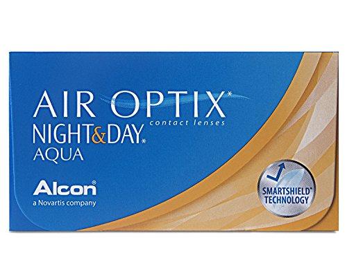 Air Optix Night & Day Aqua Monatslinsen weich, 6 Stück/BC 8.6 mm/DIA 13.8/-2 Dioptrien