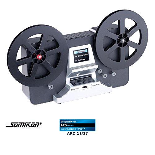 Somikon Filmscanner: HD-XL-Film-Scanner & -Digitalisierer für Super 8 und 8 mm, Stand-Alone (8mm Filmscanner)