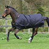 Bucas Irish Turnout Light Regendecke schwarz 130