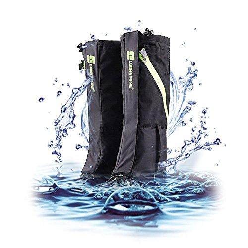 Outdoor Wasserdicht Gamaschen, 2win2buy Atmungsaktiv Bein Schutz Legging Gaiter, gegen Anti Staub Schlamm Schnee zum Wandern, Klettern und Schneewandern