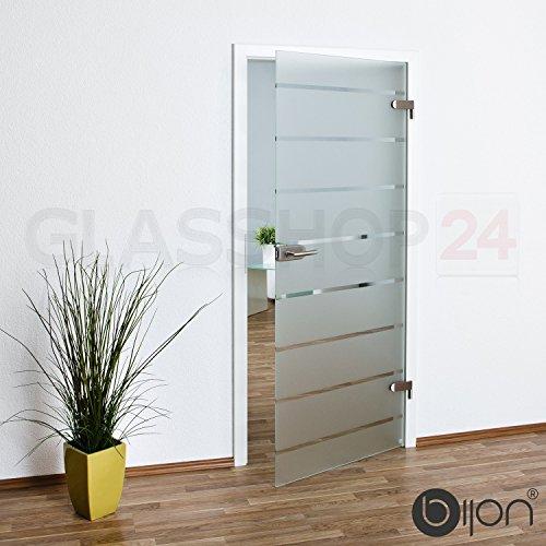 bijon Glastür T5 | Studio/Studio | 834x1972mm | DIN Rechts