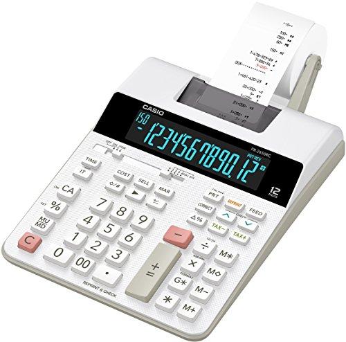 Casio FR-2650RC druckender Tischrechner 12-stellig, LC Display mit Hintergrundbeleuchtung