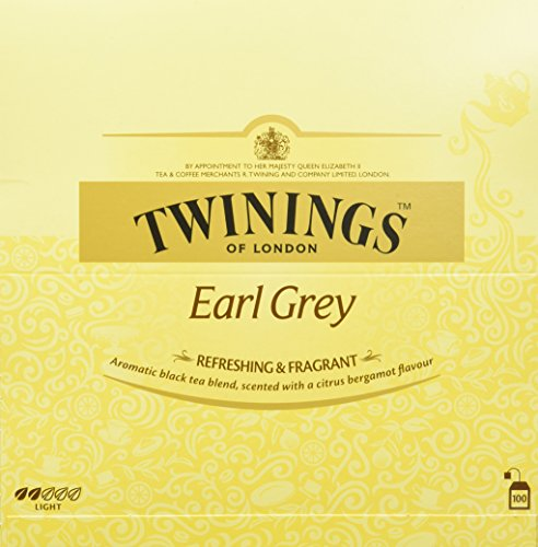 Twinings Earl Grey 200g, 100 Beutel, 1er Pack (1 x 200 g)