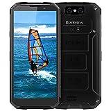 Blackview BV9500 Outdoor Smartphone,10000mAh Kabelloses Laden 64GB ROM Octa-Core Android 8.1 Robust Smartphone, Globales 4G-Netzwerk 16MP + 13MP Kamera 5.7 FHD+ Display IP69K Smartphone,Schwarz