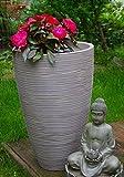 Blumenkübel Blumentopf Pflanzeinsatz aus Kunststoff ø 40cm verschiedene Höhen (60cm)