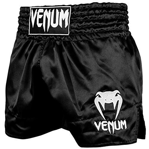 Venum Classic Thaibox Shorts, Schwarz/White, XL