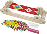 Furtwängler Perlenwebrahmen Webrahmen aus Holz inklusive Perlen