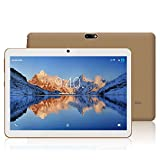 Tablet 10 Zoll HD YOTOPT - Android 7.0, Quad Core, 2GB RAM, 16GB eMMC, 3G, Wifi, Dual-Sim Wifi/Bluetooth/GPS (Schwarz)