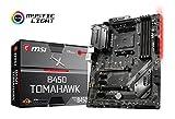 MSI B450 Tomahawk, Sockel AM4, DDR4, HDMI, DVI-D, 1x M.2, 2x USB 3.1 Gen2, 4x USB 3.1 Gen1 ATX Mainboard