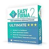 EasyFirma 2 Ultimate - Bürosoftware, Rechnungsprogramm für Mahnungen, Einnahmen, Ausgaben, Umsatzsteuer