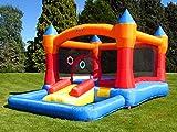 Bebop Turret Ball Pit Kids Großes Garten Aufblasbar Hüpfburg für Kinder