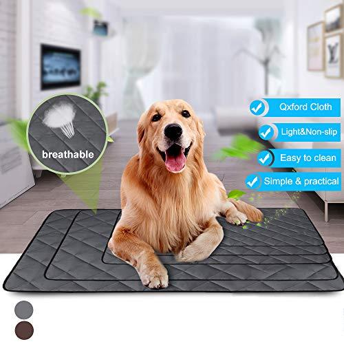 IVYSHION Hundematte Schlafmatte für Hunde Sommer Katzen Hundematte wasserdichte rutschfeste hundematte für Zuhause Unterwegs oder im Auto