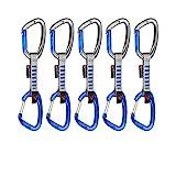 Mammut Karabiner-Set 5er Pack Crag Indicator Wire Express Sets
