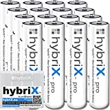 16er Pack Kraftmax hybriX pro Set - 16x Micro AAA Hybrid Akkus in Box - Die Neue Generation von Hybrid Akku Batterien