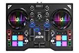 Hercules DJ Control Instinct P8 (2-Deck DJ Controller, 8 Performance-Pads, integr. Soundkarte, DJUCED 40°, PC / Mac)