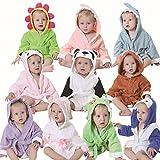 FHKL Kinder Badetuch Robe Kinder Mit Kapuze Strand Schwimmen Poncho Kreative Baby Bademäntel,I