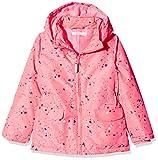 NAME IT Mädchen Jacke NMFMELLO Jacket Confetti, Mehrfarbig Neon Salmon Rose, 104
