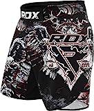 RDX MMA Shorts Training | Perfekt für Boxen, Kampfsport, Freefight, Grappling, Kickboxen | Stretch Kampfshorts für BJJ und Muay Thai (MEHRWEG)