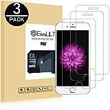 EasyULT [3 Stück] iPhone 6S Panzerglas, HD Ultra-klar Anti-Kratz Anti-Fingerabdruck Displayschutzfolie Displayschutz Folie Panzerglasfolie Schutzfolie Für iPhone 6/iPhone 6S