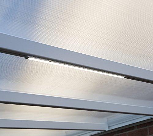 Palram Lichtleiste, Nachtlicht und Beleuchtung für Pavillons, Wintergärten, Gerätehäuser und Terrassenüberdachungen