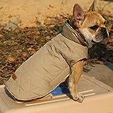 Sharplace Haustier Warmer Winter Kleidung Wasserdichter Hundemantel - Braun, M