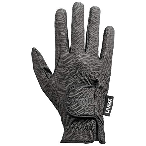 Uvex Damen Reiterhandschuhe Sportstyle Reithandschuh Hochelastische Aus Griffigem Pu-material, black, 7.5