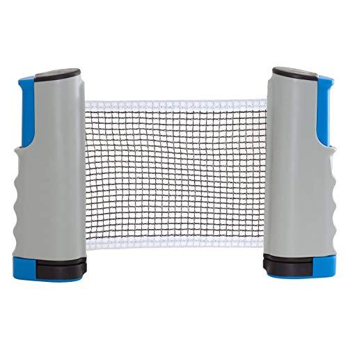 iheyfill Tischtennisnetze,Einziehbares Tischtennis Netze Ping Pong Ersatznetz, Beweglicher Reisehalter - Einstellbare Länge 175 (max) x 14,5cm