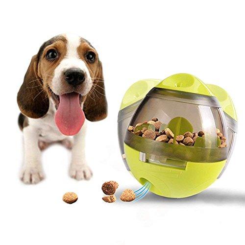Vivi Bear Haustier-Ball, Tumbler Spielzeug Haustierfutter Spielzeug Ball interaktiver Leckerli, Ball für Hunde, erhöht IQ, Spaß und Ein, Beste Alternative zu Bowl Feeding