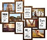 empireposter - Collage Bilderrahmen - Helsinki kupfer Multishot - Größe (cm), ca. 51x59 - Wechselrahmen, NEU - Beschreibung: - Kunststoff-Rahmen mit Glasscheiben, kupfer - Außengröße 51x59 cm für 12 Fotos 10x15 cm -