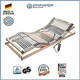 Ravensberger Matratzen Medimed Lattenrost | 7-Zonen-Buche-Lattenrahmen | 44 Leisten| elektrisch| MADE IN GERMANY - 10 JAHRE GARANTIE | 120x200 cm