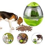 YJZQ Hundefutter Spender Ball Hunde Snackball Treat Dispender Ball Hundespielzeug Interatives IQ Treat Ball Ungiftig Intelligenz Food Dispender Ball für Hunde und Katzen
