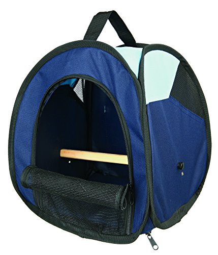 Trixie 5906 Tasche, dunkelblau/hellblau