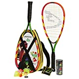 Speedminton S600 Set – Original Speed Badminton/Crossminton Einsteiger Set inkl. 3 Speeder, Speedlights, Tasche