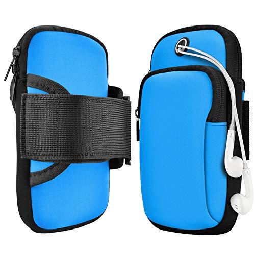 Sport Armband,Armband Handy,Armtasche,Jogging,ArmJoggingTasche, Smartphone Laufen Sportarmband Schlüssel Halter für Handy Bis zu 7,0'