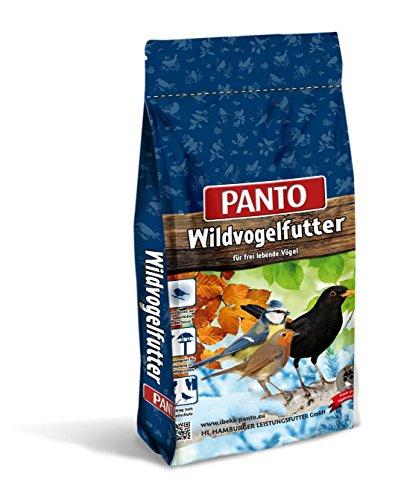 Panto Vier-Jahreszeitenfutter, Wildvogelfutter, 1er Pack (1 x 25 kg)
