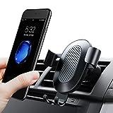 Handyhalterung Auto, TORRAS Universal Multi-Winkel Schwerkraft KFZ Halterung Auto Anti-Shake lüftung Autohalterung für iPhone 8 / 8 Plus / X / 7 / 7 Plus / 6S, Samsung S9 S8 Plus und Andere Smartphones - Schwarz