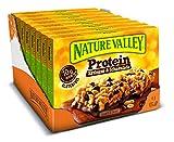 Nature Valley Protein Erdnuss & Schokolade, 8er Pack (8 x 160 g Multipack mit je 4 Proteinriegeln)