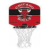 Spalding NBA Miniboard Chicago Bulls Basketball, rot/Schwarz, One Size