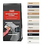Lugato Sicherheitsfuge Flexibel 1 kg grau - Fugenmörtel