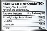 Optimum Nutrition BCAA 1000 mg, 400 Kapseln