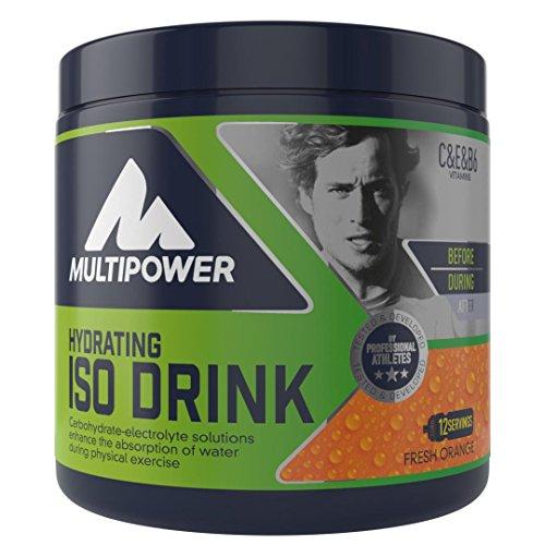 MULTIPOWER ISO DRINK - isotonische Sportgetränk, 420 g