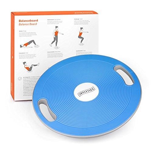 Joyletics Balanceboard Therapiekreisel | Balance Board zur Verbesserung von Kraft, Gleichgewicht und Körper-Koordination | Durchmesser 40 cm, blau