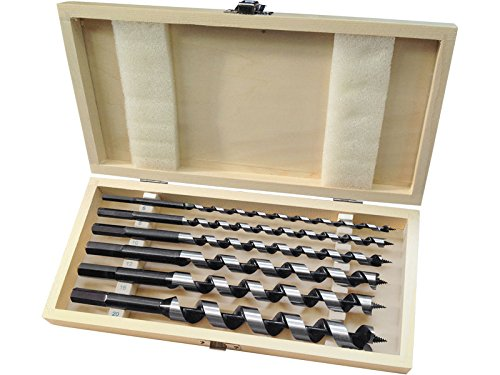 Extol Premium Holzschlangenbohrer, Set 6 Stück, 8801290