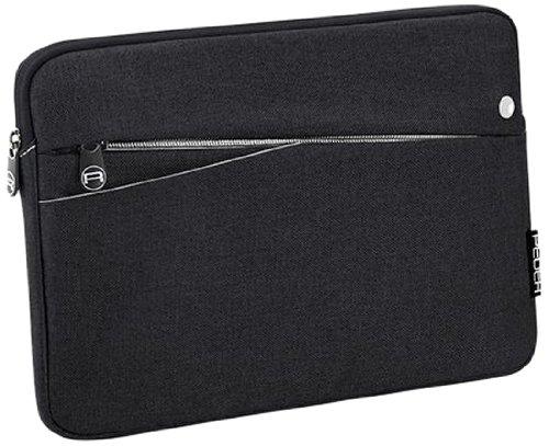 PEDEA Tablet PC Tasche 'Fashion' für 10,1 Zoll (25,6cm) Tablet Schutzhülle Tasche Etui Case mit Zubehörfach, schwarz