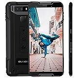 CUBOT Quest 5,5 Zoll 4G Sport Phablet Robustes Smartphone mit Octa Core CPU Gorilla Glas 5 4GB + 64GB Android 9,0 Fingerabdrucksensor Gesicht ID IP68 Wasserdicht (Schwarz)