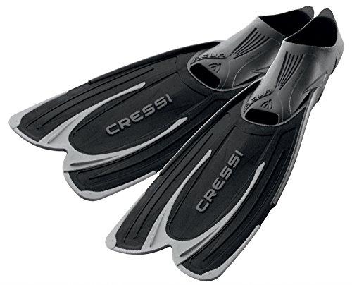 Cressi Agua -  Premium Flossen Self Adjusting zum Tauchen, Apnoe, Schnorcheln und Schwimmen