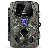 Victure Wildkamera Fotofalle 12MP 1080P Full HD Jagdkamera 120°Weitwinkel Vision Infrarote 20m Nachtsicht Wasserdichte IP66 Überwachungskamera mit 2.4' LCD Display